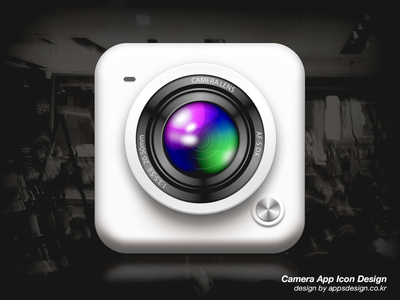 iPhone Camera App Icon Design