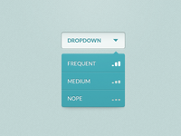 Dropdown Rebound