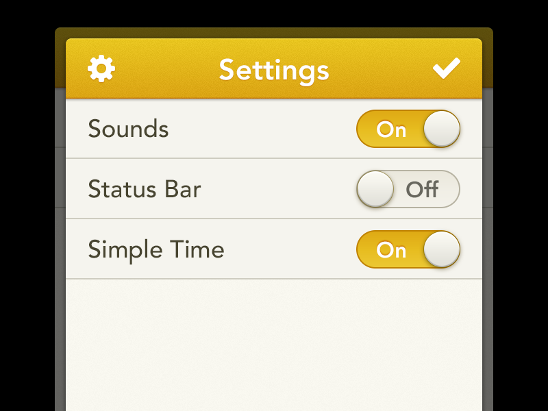 Settings-dribbble