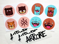 Artcore Sticker Pack