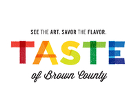 Taste of Brown County - discarded logo