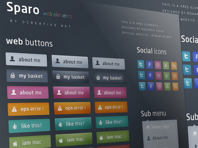 Download Sparo – Free Web Elements