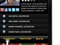 Army Veterans Network Mobile App