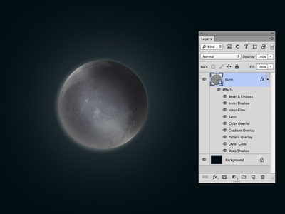 Download One Layer Style – Pluto