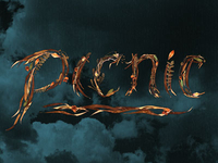 Picnic title treatment