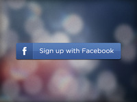 Sign Up With Facebook Button