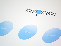 Inndovation logo Design