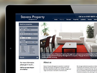 Stevens Property Management Website