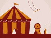 Lion at the Circus