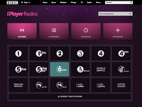 BBC iPlayer Radio Stations