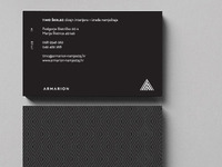 Armarion furniture business card