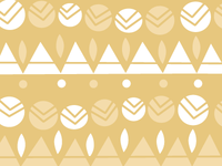 Golden abstract pattern