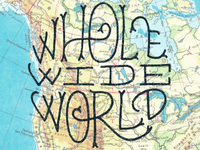 Whole Wide World text