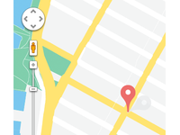 Google Maps Flat Design