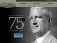 McConnell Foundation 75th Anniversary Timeline