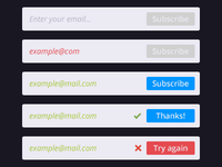 Subscription form [Final version]