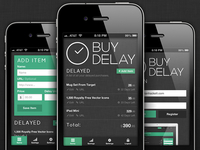 BuyDelay Mobile Screenshots