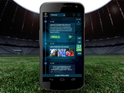 Uefa Champions League Android App