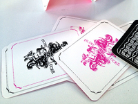 'Filthy Lucre' playing cards