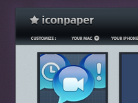 Iconpaper in colors