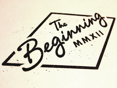 The Beginning | MMXII