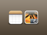 Lucerna HD Calendar and Photos Icons