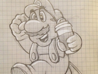 Mario Coffee Power Up