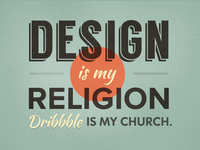 Design is my Relgion
