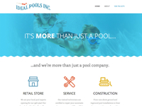 Ideal Pools Homepage