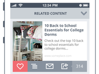 Related Content UI