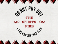 Do Not Put Out The Spirits Fire (Version 2)