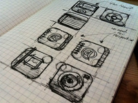 iOS Icon Sketches