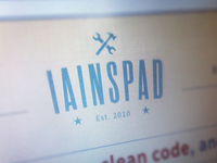 iainspad is finally done!