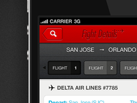 Flight Details - iPhone (retina)