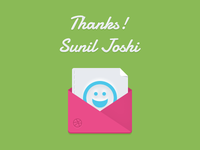 Thanks @Sunil Joshi