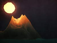 Low Poly Mountain