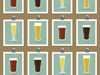 Cheers For Beers Illustrations