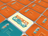 Kookie cutters business cards