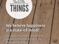 The Little Things - Homepage