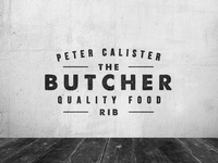 The Butcher #1