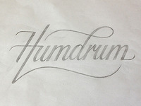 Humdrum logo (sketch)
