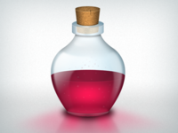 Secret Potion Bottle
