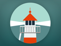 Lighthouse pictogram