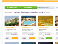 Holiday booking