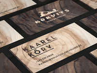 Kõrvits name cards