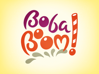 Boba Boom! Logo Proposal