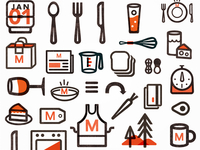Icons for food (again)