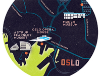 Tiny map of Oslo