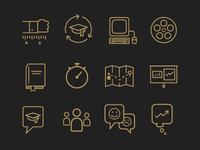 Training Guide Icons