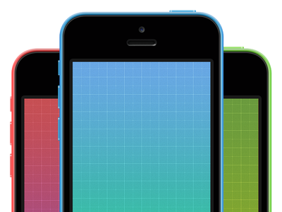 Download iPhone 5C Blueprint Wallpaper